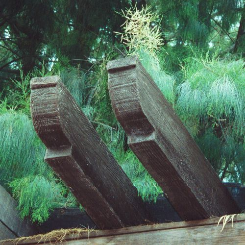 Vigas arquitectura de fibra de vidrio fiberland - Viga imitacion madera ...
