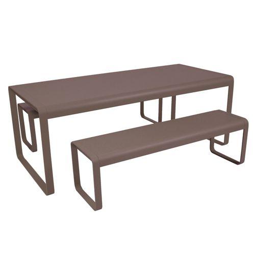 Muebles de aluminio fiberland for Muebles jardin aluminio