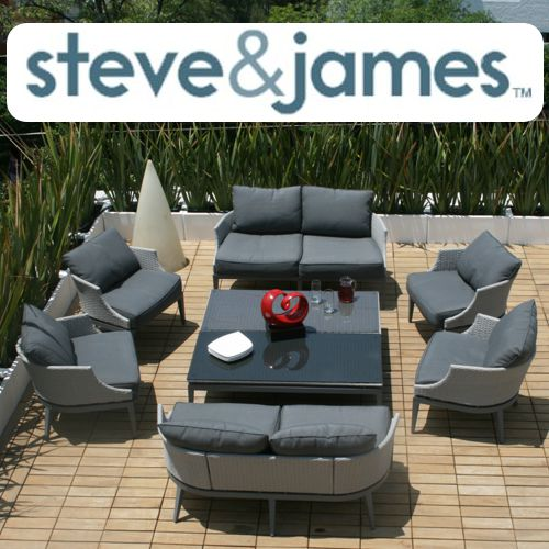 Muebles de aluminio de Steve and James